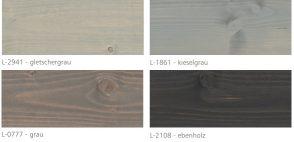 Farby Mocopinus paleta kolorów Holz Lasur cz 2 z 2