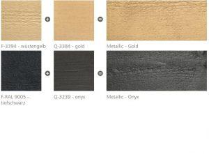 Farby Mocopinus paleta kolorów Metallic-Farbe cz 2 x 2