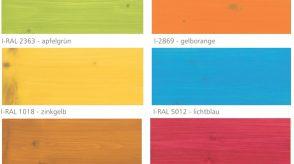 Farby Mocopinus do pokoików dziecięcych paleta kolorów