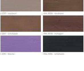 Farby Mocopinus farby do wewnątrz paleta kolorów 3 z 3